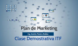 Clase demostrativa Plan de Marketing