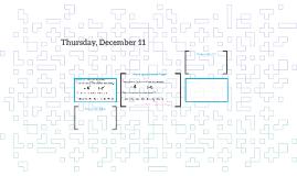 Thursday, December 11
