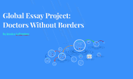 Global Essay Project: