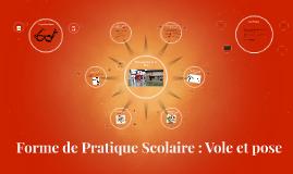 Copy of Forme de Pratique Scolaire : Vole et pose
