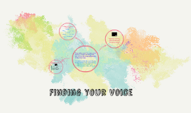 Finding Your Voice