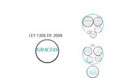 LEY 1306 DE 2009