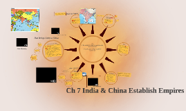 Ch 7 India & China Establish Empires