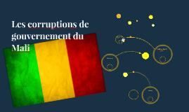 Les gouvernemental problemes de Mali