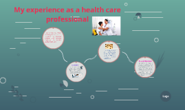 My experience as a health care professional