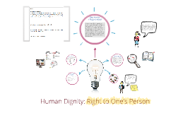 Copy of Human Dignity: Right to One's Person