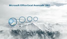 Microsofst Excel Avanzado 2007