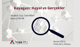 TED Talk_Kayagazı