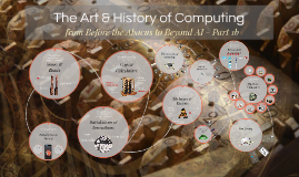 The Art & History of Computing: from Before the Abacus to Beyond AI - Part 1b