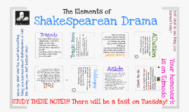 Copy of Shakespearean Drama