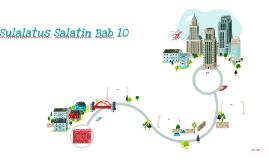 Sulalatus Salatin Bab 10