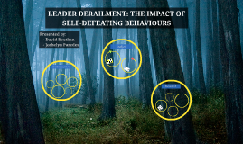 LEADER DERAILMENT: THE IMPACT OF SELF-DEFEATING BEHAVIOURS