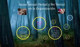 Copy of Acoso Sexual Verbal y No Verbal