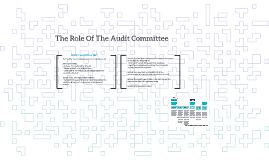 The Role Of The Audit Committee