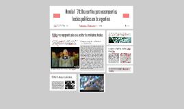 Mundial ´78: Una cortina para oscurecer los echos políticos
