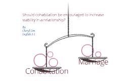 Cohabitation vs. Marriage