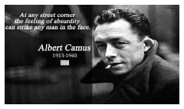 "DIRECTIONS: Working in pairs, go through Camus's ""Death in t"