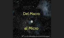 Del Macro al Micro