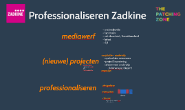 Professionaliseren Zadkine