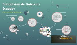 Periodismo de Datos en Ecuador