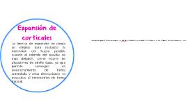 expansion de corticales