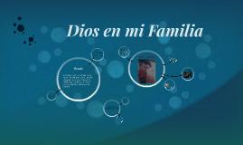 Dios en mi Familia