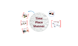 COM 405 Time, Place, Manner