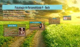 Psicologia da Personalidade II - Beck