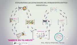 CAPACIDADES DEL PENSAMIENTO CRITICO -CREATIVO 2.0