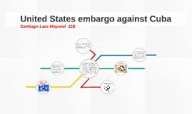 United States embargo against Cuba