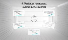 Tema 9: Unidades de magnitud. Sistema métrico decimal