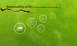 Sustainability at NU