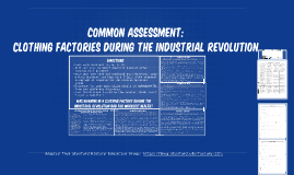 Copy of Common Assessment: