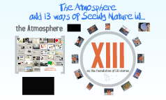 The Atmosphere and 13 ways of Seeing Nature In...
