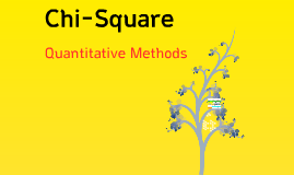 Quantitative Methods - Chapter 9: Chi-Square
