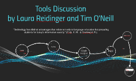 Tools Discussion 2014