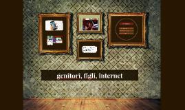 genitori, figli, internet
