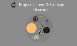 Project Career & College Research