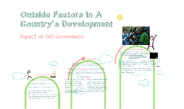 Outside Factors in a Country's Development