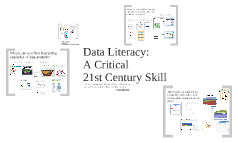 Data Literacy: A Critical 21st C Skill