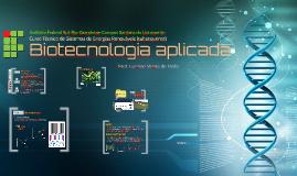 Disciplina BIOTECNOLOGIA APLICADA (SER)