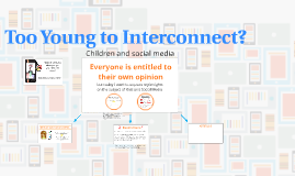 Too Young to Interconnect?