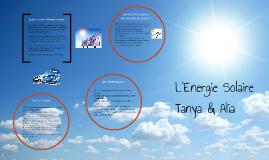 Qu'est ce que l'énergie solaire ?