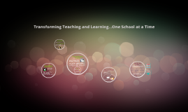 Copy of Transform Teaching and Learning
