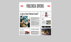Copy of VIOLENCIA JUVENIL