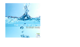 Copy of The Value of Water
