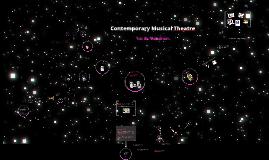 Contemporary Musical Theatre - Into the Mainstream