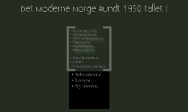 norge 1950