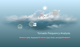 Tornado Frequency Analysis