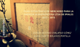 Copy of PLAN ESTRATÉGICO DE MERCADEO